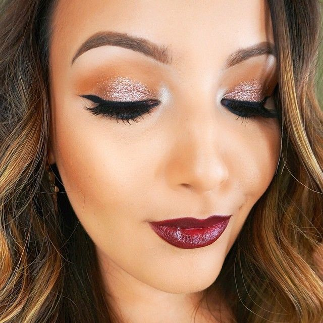 Now Kiss And Makeup: Fall Glam By Amanda Ensing #readyforfall