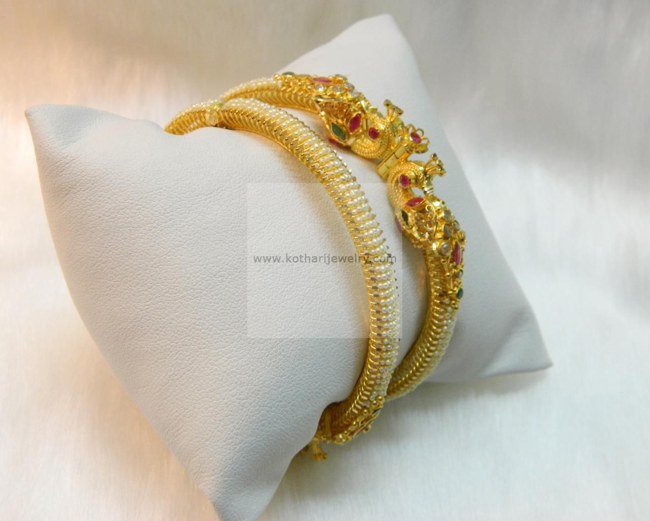 plated mm kaash plain bracelet bangle product bangles b gold