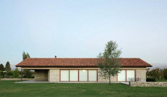 Casa de campo de hormigón