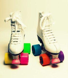 Let's skate around the block.
