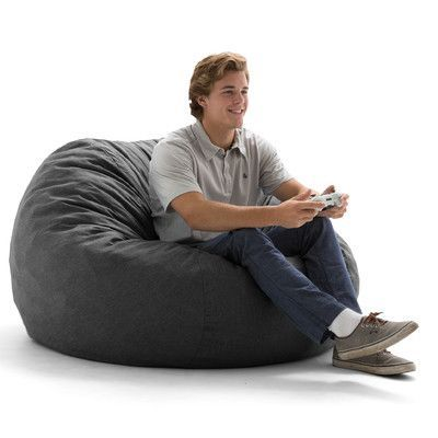 Comfort Research Big Joe Lux Bean Bag Chair Upholstery: