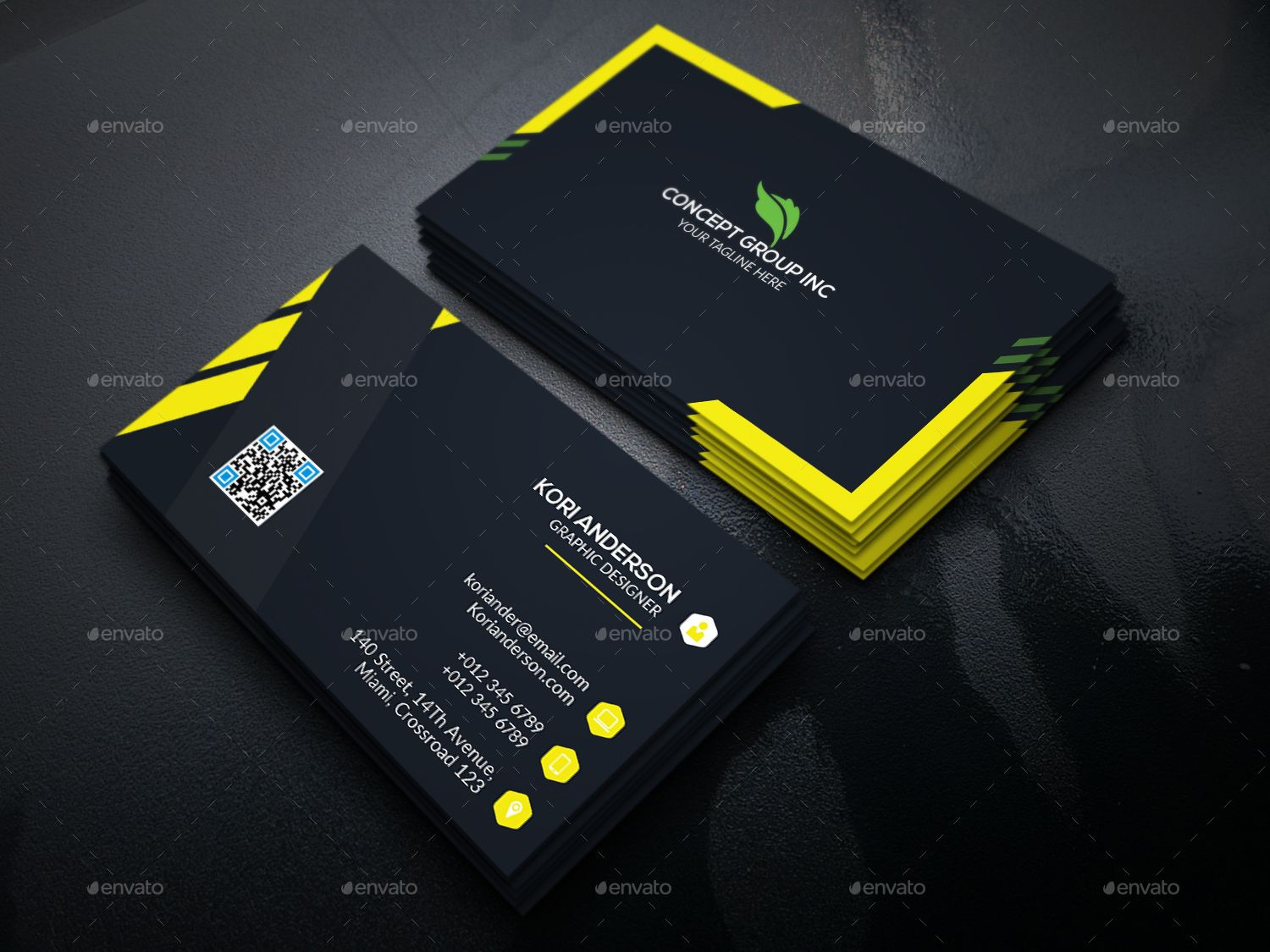 Corporate Business Card Vol 16 With Images Business Cards