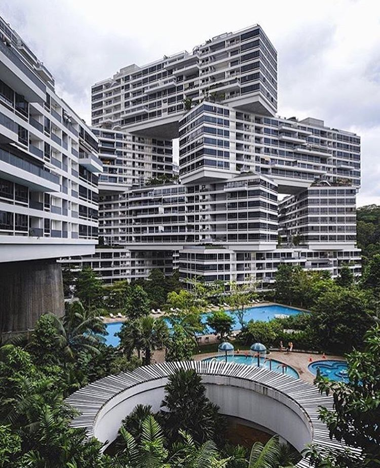 Apartments In Singapore: #architecture_hunter The Interlace Apartments In Singapore