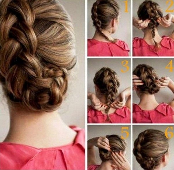 Step By Hairdo Ideas For Girls