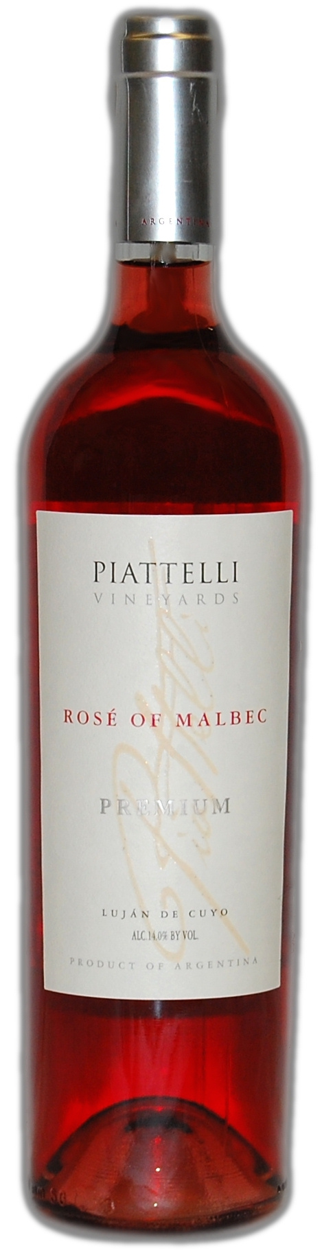 Piattelli Premium Reserve Rose Roseofmalbec Rose Wine Bottle Wine Bottle Malbec