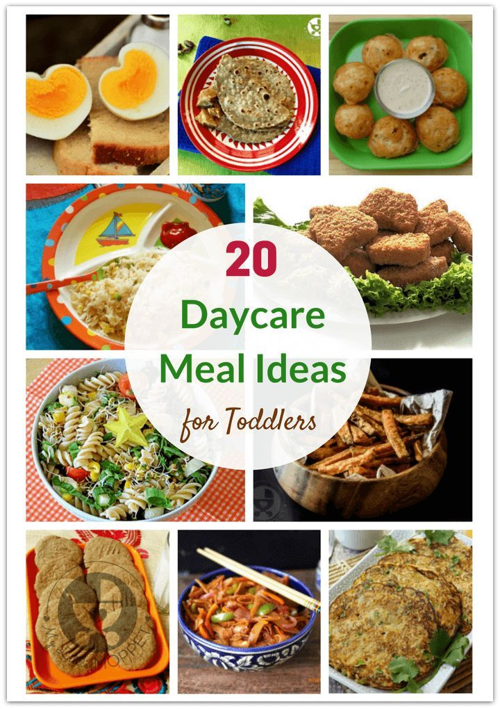 20 Healthy Daycare Meal Ideas for Toddlers images