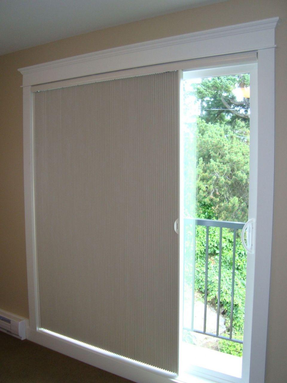Cellular blinds for sliding glass doors in 2020 glass