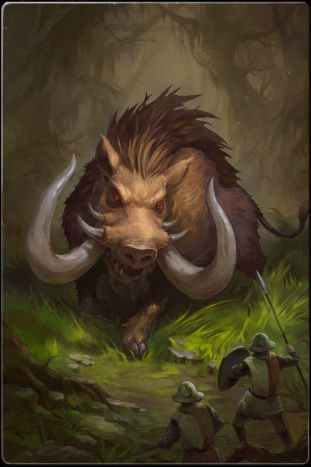 Giant Boar ॐ Bukka Doesnt End Up This Big But Pretty Darn Big