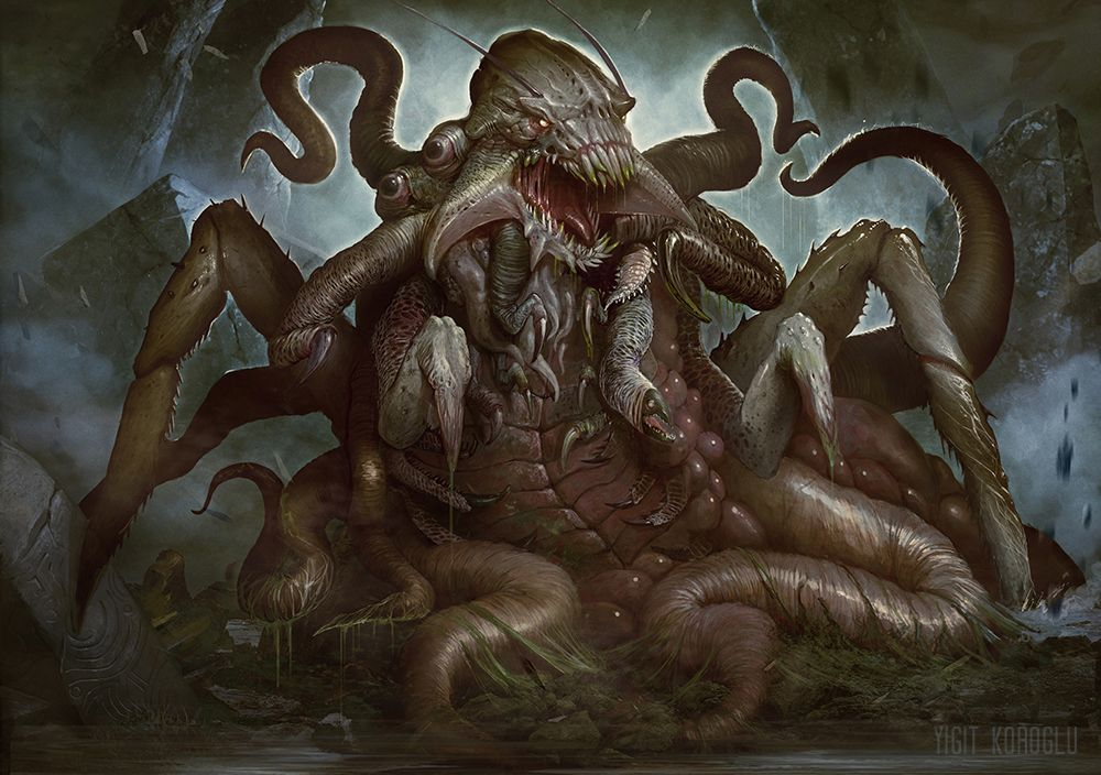 Image result for fantasy bug with tentacles art