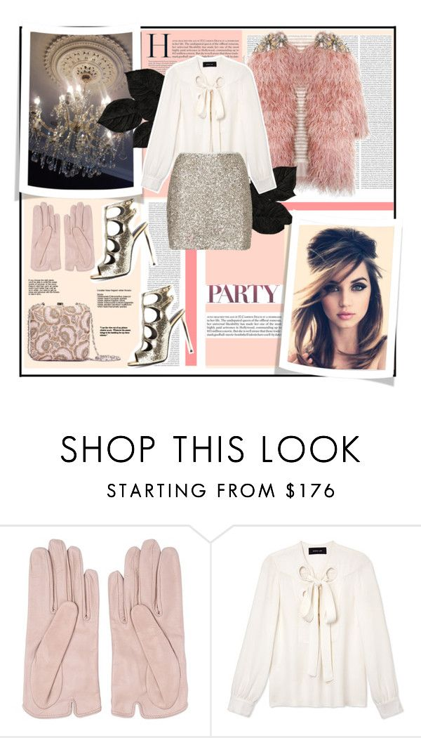 """""""Royal party style."""" by zeljkaa ❤ liked on Polyvore featuring Oris, Mario Portolano, Derek Lam and Topshop"""