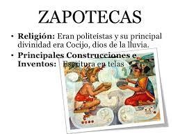 inventos zapotecas