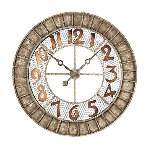 Oversized Bronze Outdoor Wall Clock By Sterling Elk Lights Http Www