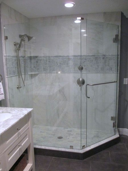 A Beautiful Frameless Glass Shower Enclosure Is Waiting For You In Tampa Bay