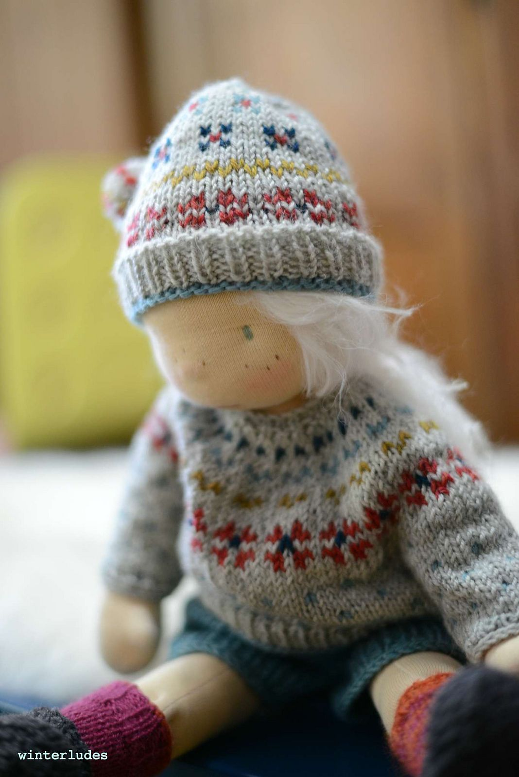 Ravelry: expecting snow set by winterludes dolls | Waldorf ...