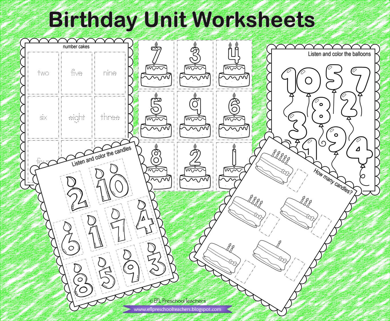 Birthday Unit Worksheets For Kindergarten Ell In 2021 Kindergarten Worksheets Kindergarten Ell English Language Learners [ 1125 x 1364 Pixel ]