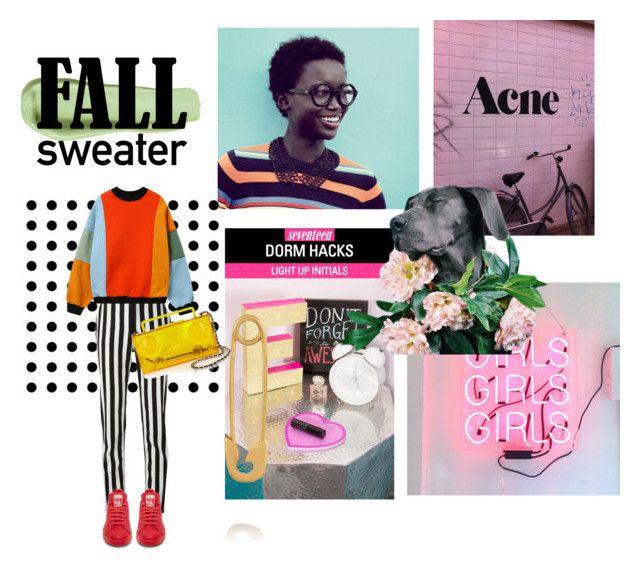 """Fall sweater"" by lianafourmouzi ❤ liked on Polyvore featuring Givenchy, IaM by Ileana Makri, Moschino and adidas"