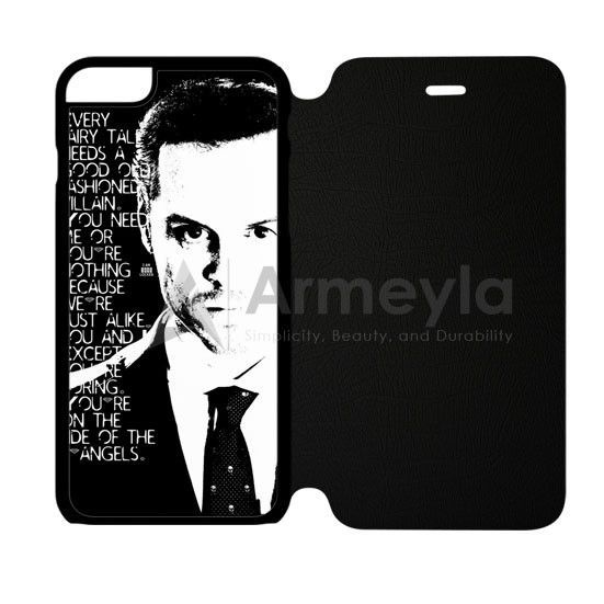 Jim Moriarty Famous Quote iPhone 6/6S Flip Case | armeyla.com