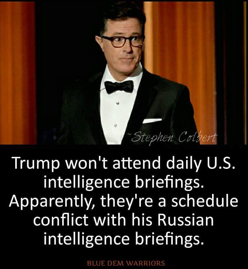 Trump Won T Attend Daily U S Intelligence Briefings Apparently