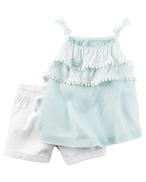 1666f7136 Moda primavera verano 2018 ropa para bebés. Carter s primavera verano 2018.