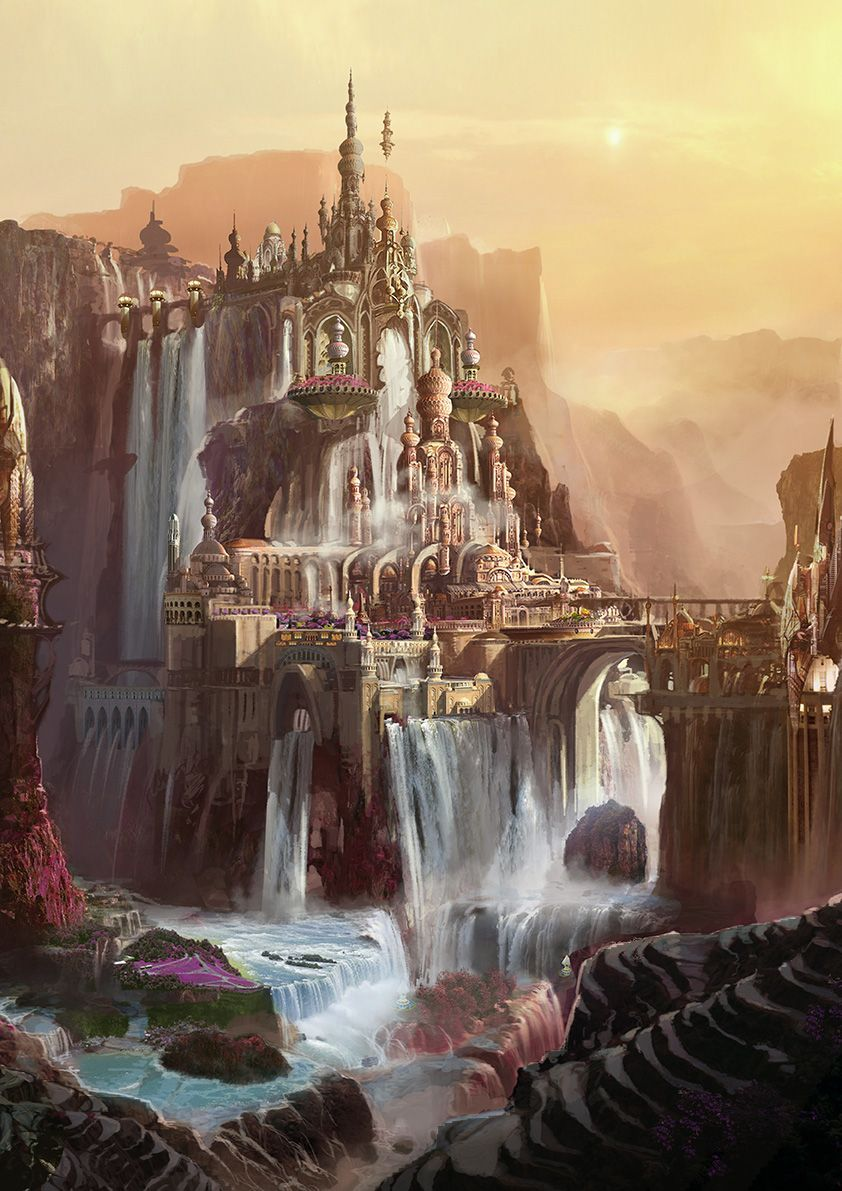 Photo of Infinite Worlds   theartofanimation:  Dominic Lavery  Best Picture For  Architec…