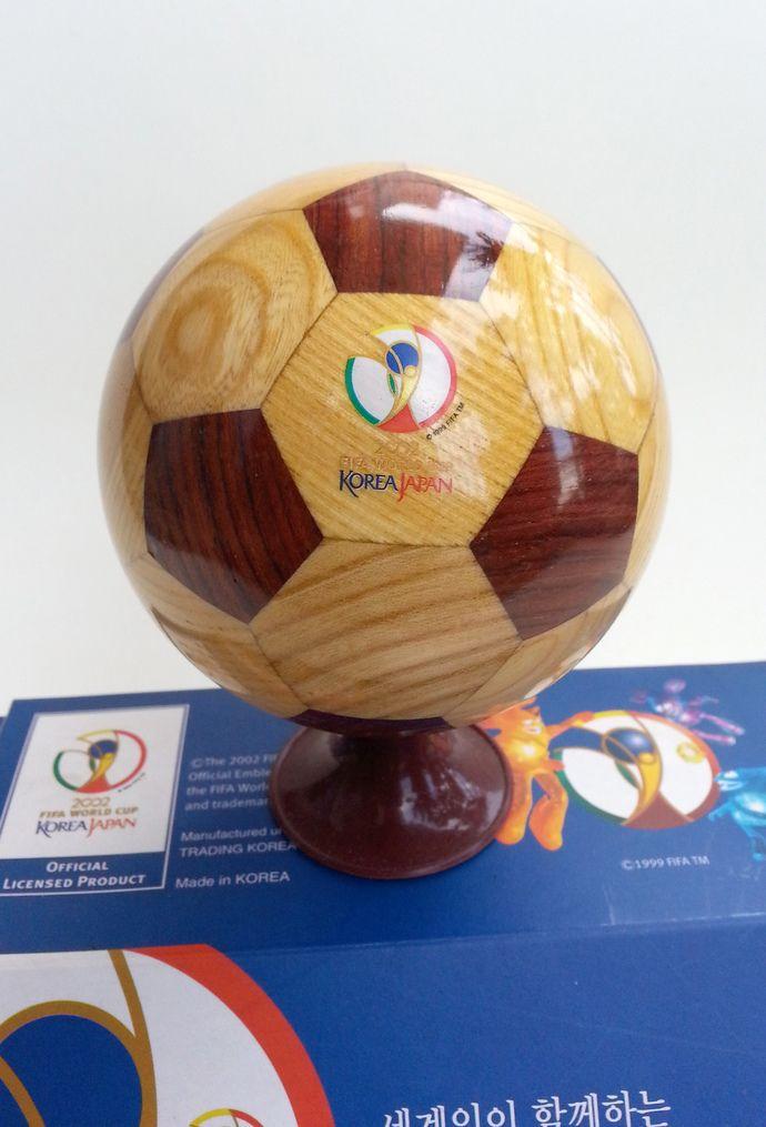 Fifa World Cup Korea Japan Decoration Wooden Soccer Ball Football New In Box Soccer Ball Fifa World Cup Fifa