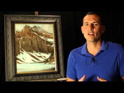 My secret weapon to create atmosphere and depth in my acrylic paintings, by Tim Gagnon - YouTube
