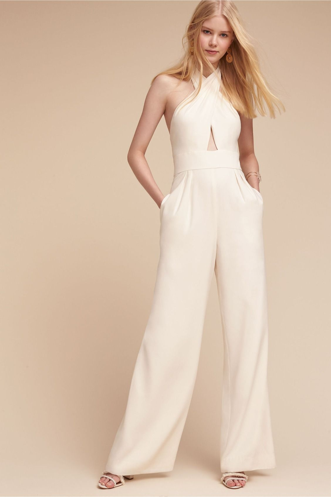 daring yet sophisticated | Kathryn Jumpsuit from BHLDN | Honeymoons ...