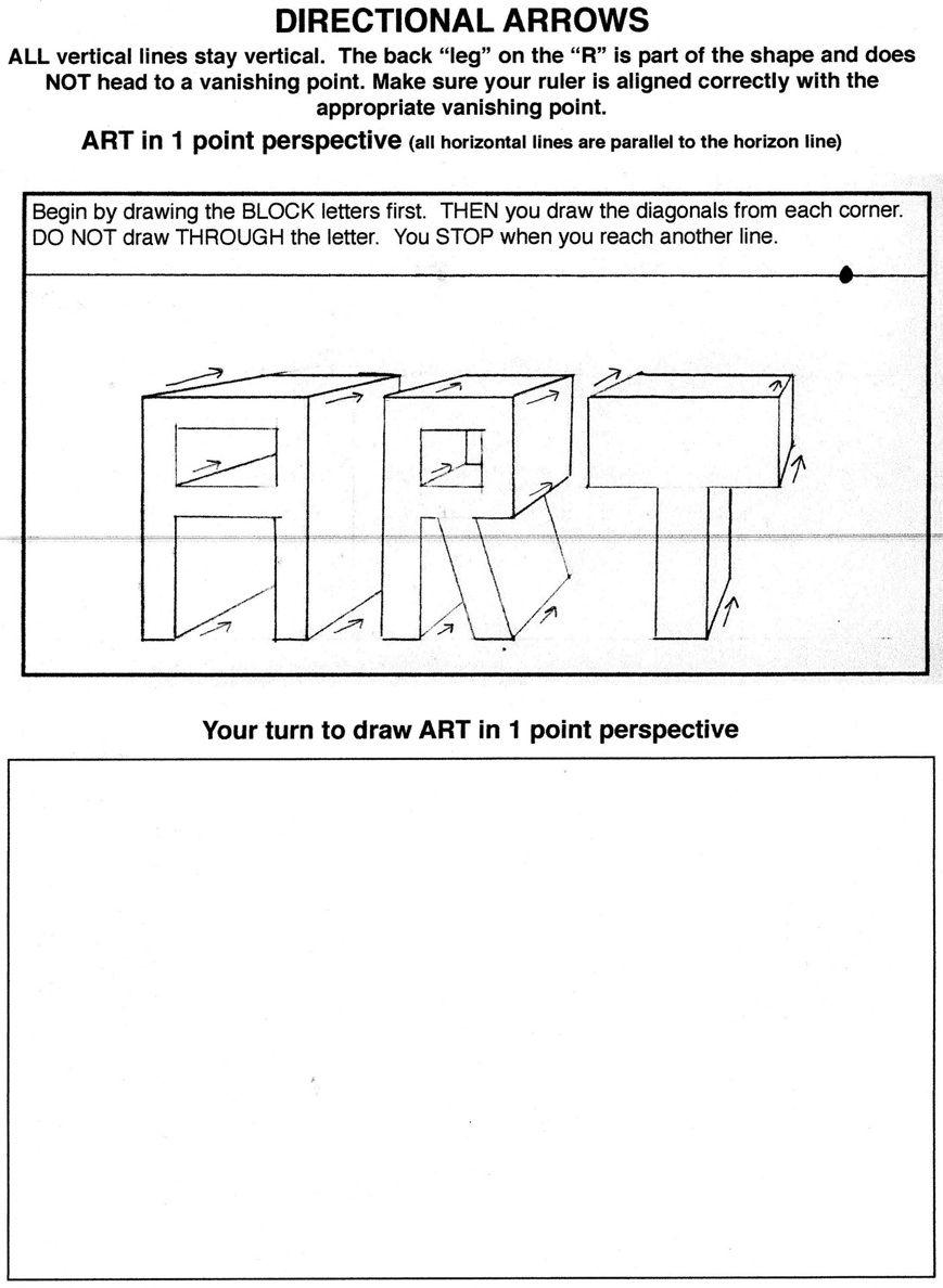 worksheet Perspective Worksheets great resource for teaching one point perspective worksheets powerpoints