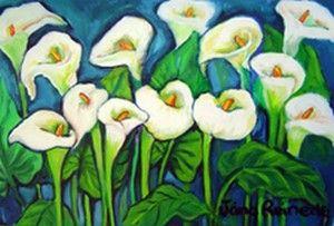 "Jana Reinecke - ""Arum Lilies"""