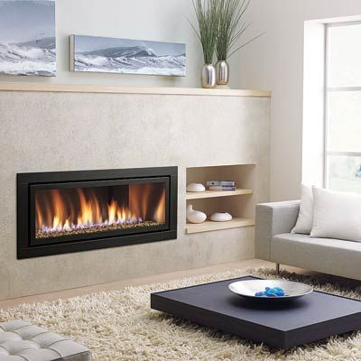 All About Gas Fireplaces Contemporary Gas Fireplace