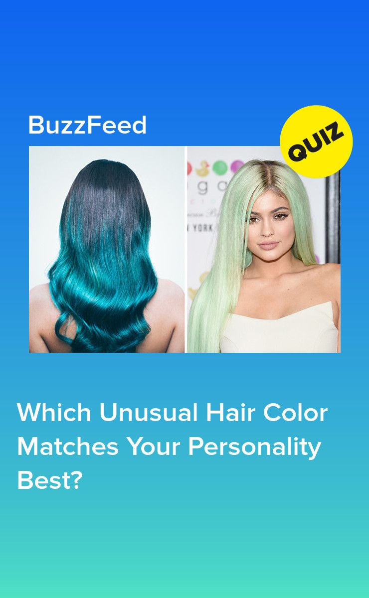 Which Unusual Hair Color Matches Your Personality Best Which Hair Colour Unusual Hair Colors Hair Quizzes