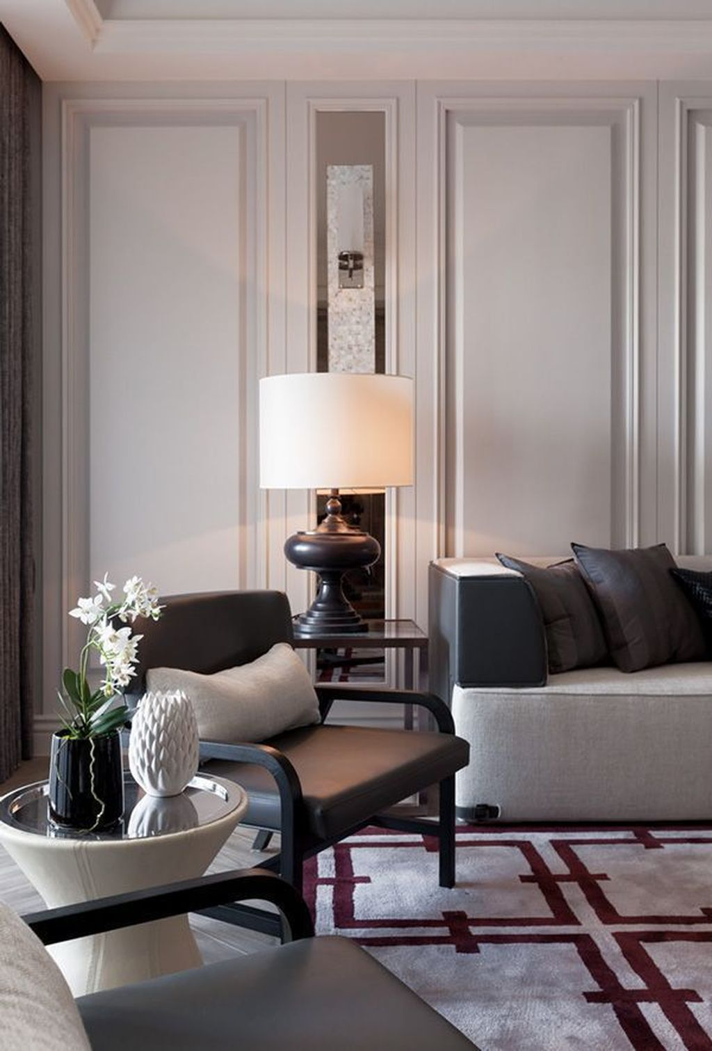 38 Inspiring Classic Living Room Decoration Ideas Rumah Ruangan
