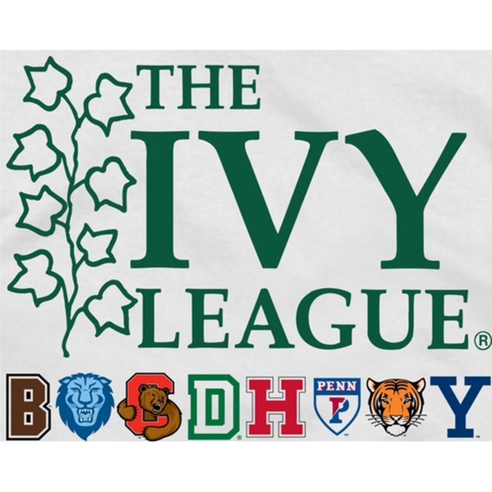 93064bb0546 Ivy League Gear Youth Logo T-Shirt - White