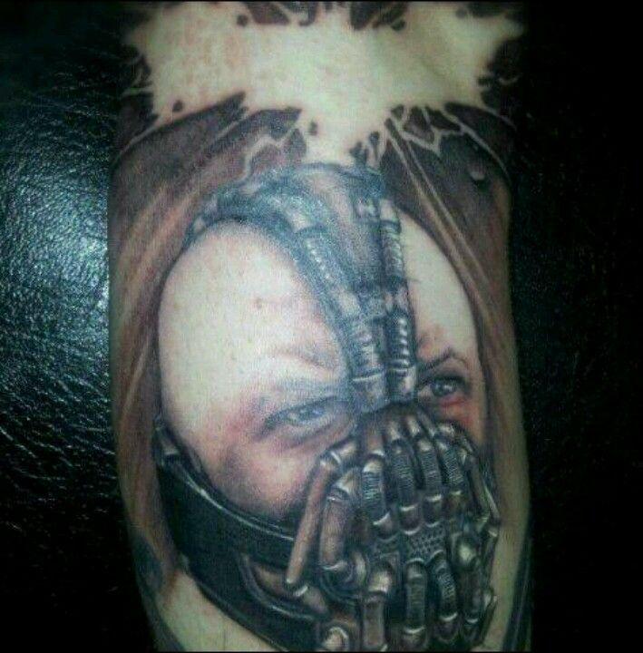 Bane tattoo | Cool tattoos, Cool tats, Tattoos
