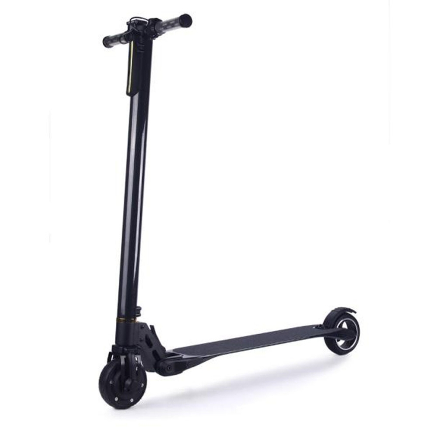 320.42$  Watch now - http://aliqo0.worldwells.pw/go.php?t=32774374544 - Premium 1040*175*260mm Black Adult Mini Smart Large Battery Life 22 km Folding Electric Cycle Cycling Scooter Gifts