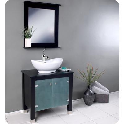 Fresca Emotivo Espresso Modern Bathroom Vanity With Mirror - Home depot canada bathroom vanities