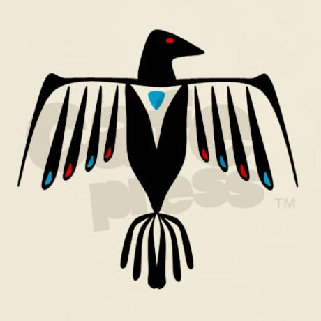 Native American Thunderbird Light T-Shirt | Stenciling ...