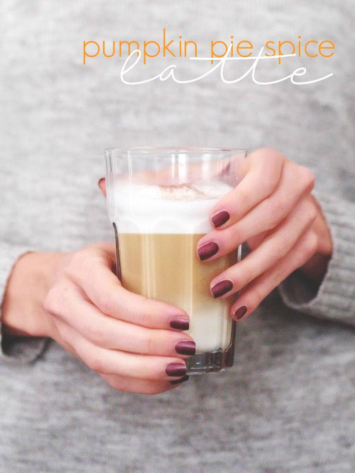 einfaches Rezept Pumpkin Spiced Latte