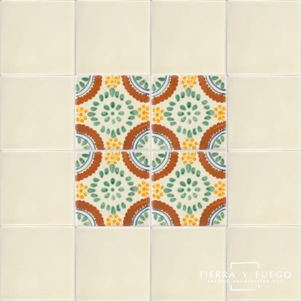 Chapala Terra Nova Hacienda Ceramic Tile Stained Glass Mosaic Mosaic Glass Ceramic Tiles