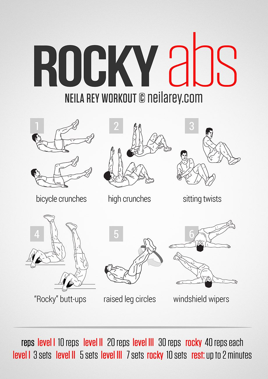 Best workouts to get a 6 pack fast