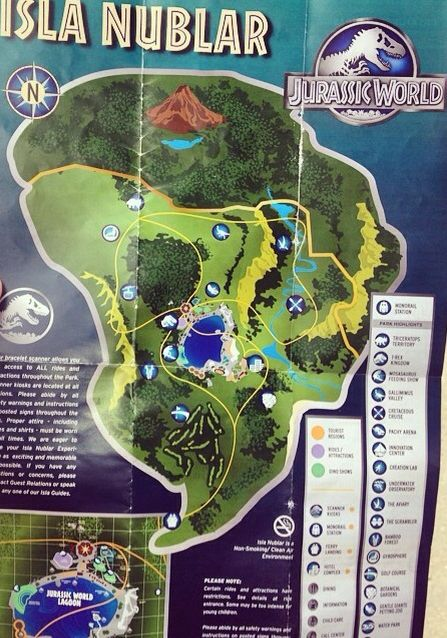 Jurassic World Map | Jurassic Park | Pinterest | Jurassic World ...