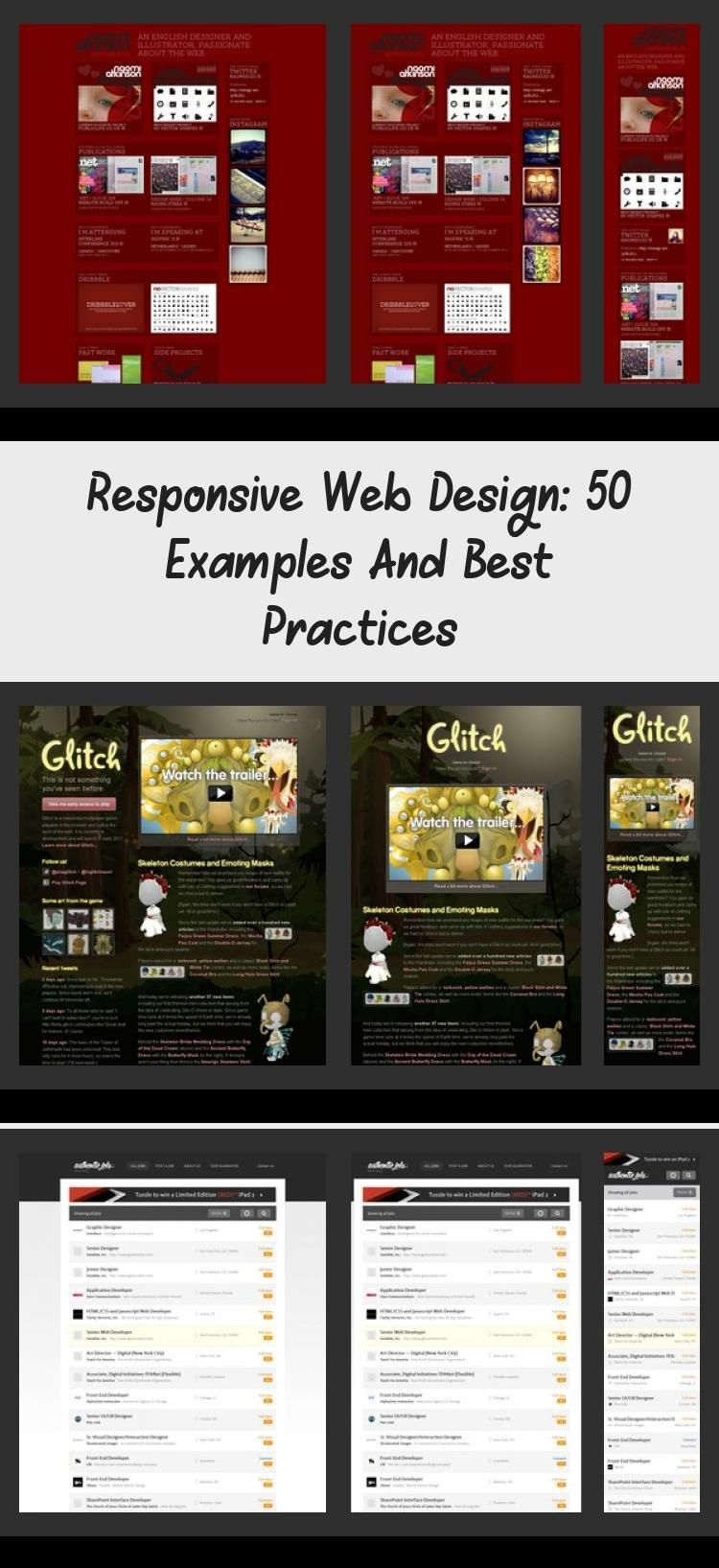 Responsive Web Design 50 Examples And Best Practices In 2020 Web Design Portfolio Web Design Responsive Design Examples