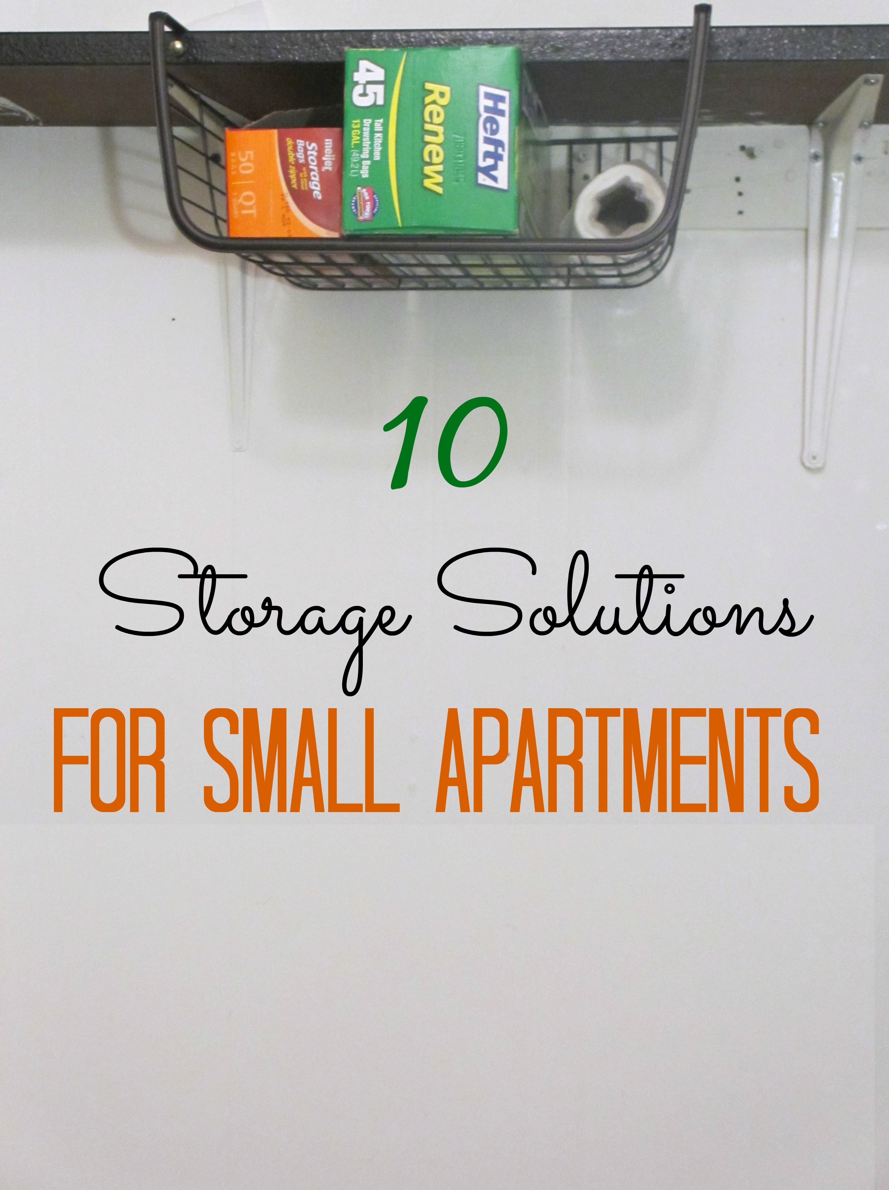 10 Storage Solutions For Small Apartments | Pinterest | Small flats ...