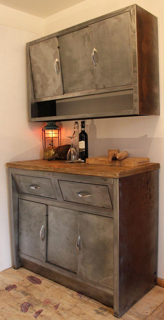 Vintage c1950 Metal/Steel Kitchen by JuliasDriftwood on ...