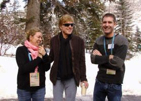 Robert Redford & Pitzer College Press Conference