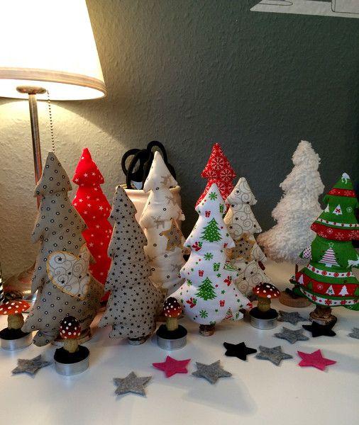 Weihnachtsbäumchen O-Tannenbaum! von Kleine Wollbude auf DaWanda.com