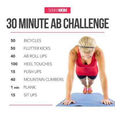 30minute ab challenge  ab challenge effective ab