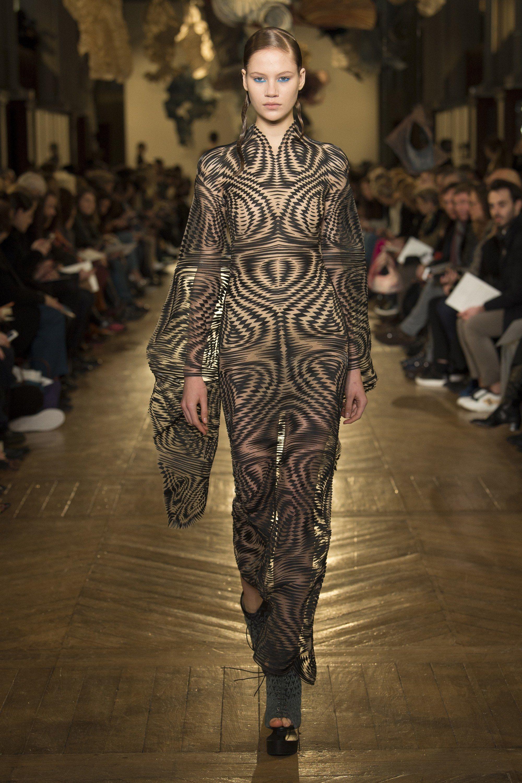 Iris van Herpen Spring 2018 Couture Fashion Show in 2019