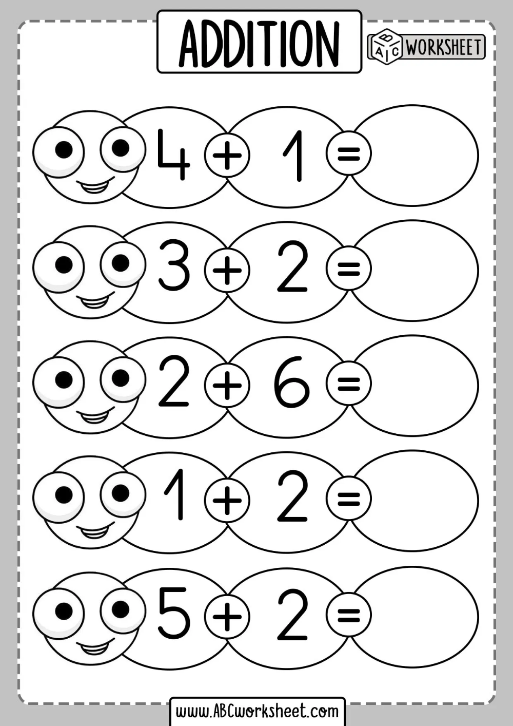 small resolution of Beginner Addition Worksheets   Addition worksheets