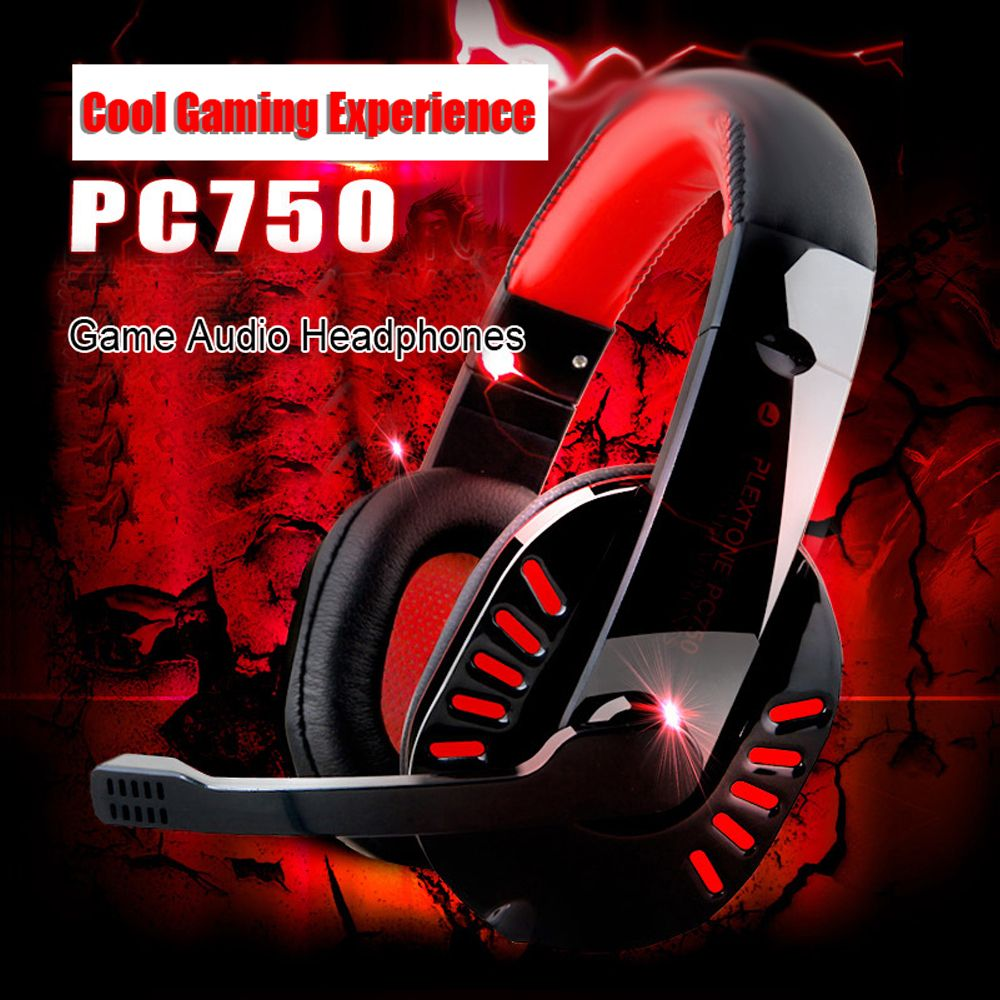 Click To Buy Hot Sale 35mm Wired Pc750 Gaming Headphone Headband
